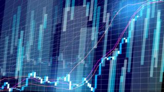 株価チャート GA